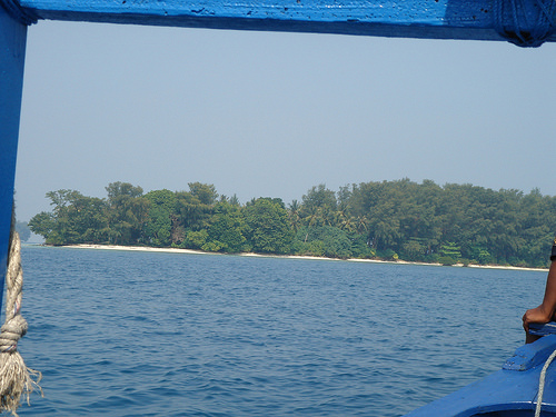 beach thousand Island jakarta photo