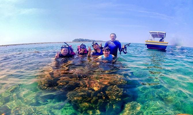 trip pulau payung